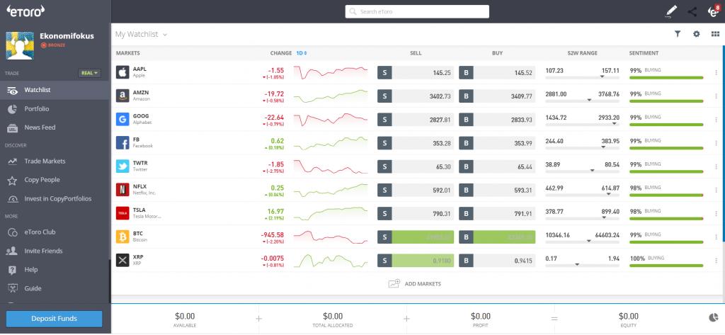 etoro trading-platform
